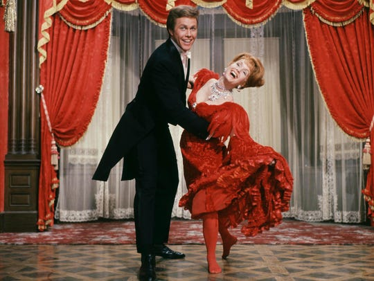 Harve Presnell and Debbie Reynolds star in1964's 'The