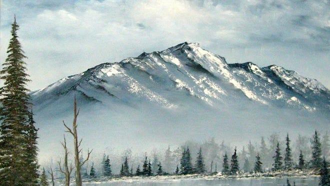"""""""Snow on High"""" by Glenn Trittenbach."""