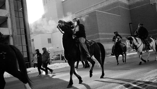 """Return of the Dakota."" Shot in Mankato, Minnesota, in 2012 by Andrew Lichtenstein."
