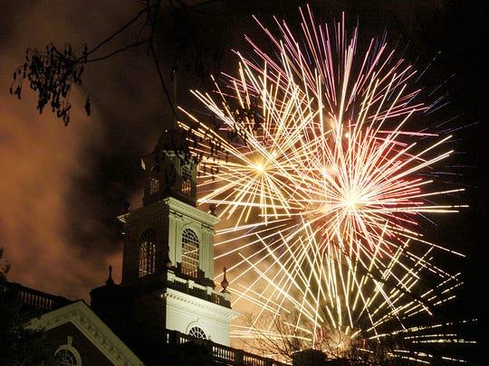 Fireworks in Dover