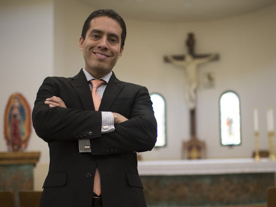 Cristofer Pereyra, director of the Hispanic Mission Office at the Catholic Diocese of Phoenix, drafted the Declaration of Values in collaboration with other area religious leaders..