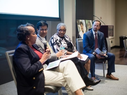 Health disparities panel participants (left to right)