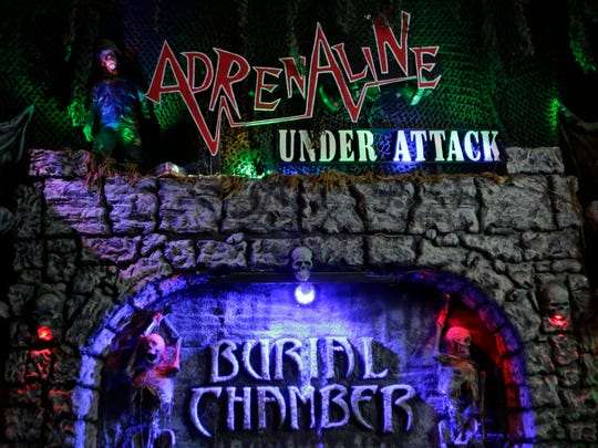 Burial Chamber is once again open for the Halloween season at 500 N. Lake St., Neenah.