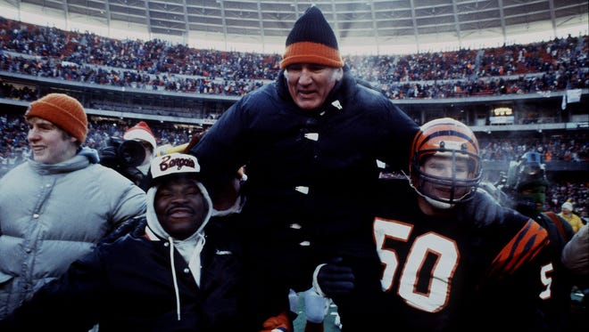 Forrest Gregg led the Bengals to the first Super Bowl in franchise history.