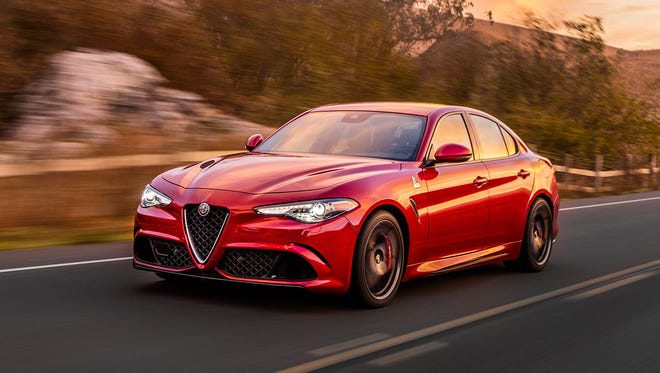 The 2017 Alfa Romeo Giulia was named Motor Trend Car of the Year Tuesday at the Los Angeles Auto Show