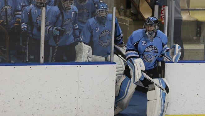 Mahwah goalie Jared Moss stood strong against Morristown and didn't allow a goal in a scoreless tie.