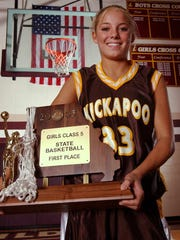 During her days at Kickapoo, Molly Miller (then Carter) brought home the hardware.