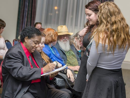 Dozier CPM Fellow signing