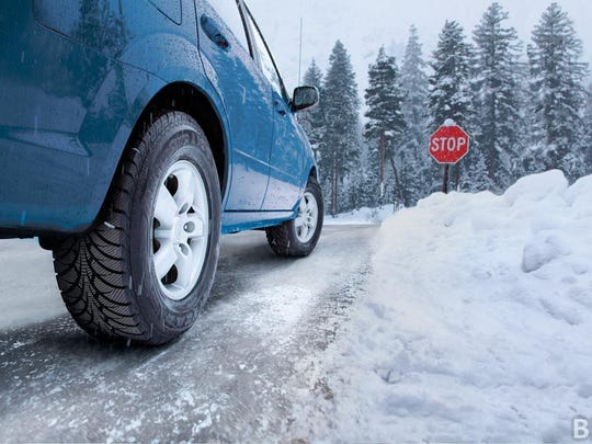 Another common mistake that winter drivers often make is not keeping enough distance between their car and the one in front of it.