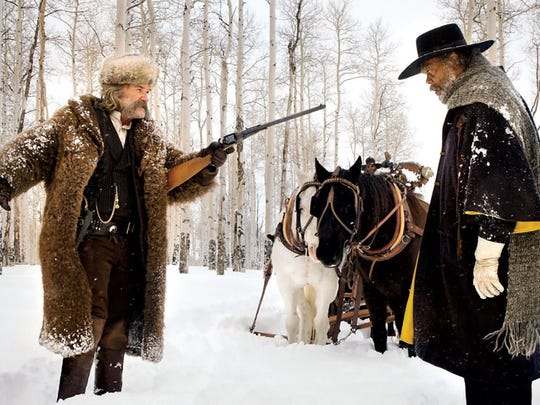 "Quentin Tarantino's racially charged ""The Hateful Eight""  fits into the zeitgeist of America in the early 21rst century."