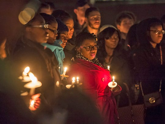 MTSU will host a candlelight vigil from 6-8 p.m. Monday