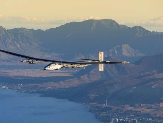 Solar Impulse 2 in Hawaii