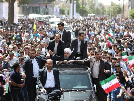 EPA IRAN US ROUHANI POL GOVERNMENT IRA