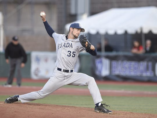 Trevor Charpie kept Nevada in the game but the Wolf Pack bats never warmed up against New Mexico.