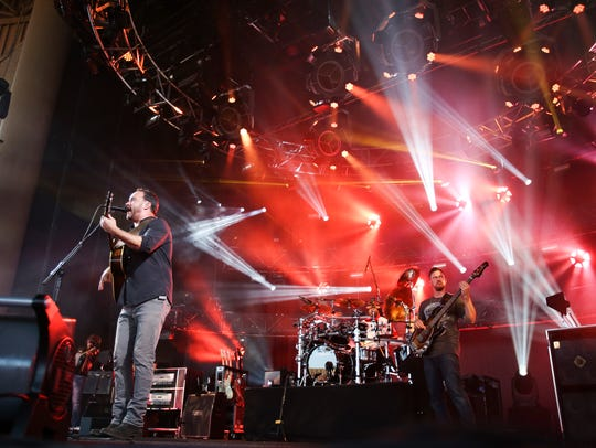 Dave Matthews Band performs in this 2016 file photo.