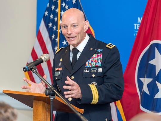 Keith Huber, Senior Adviser for Veterans and Leadership