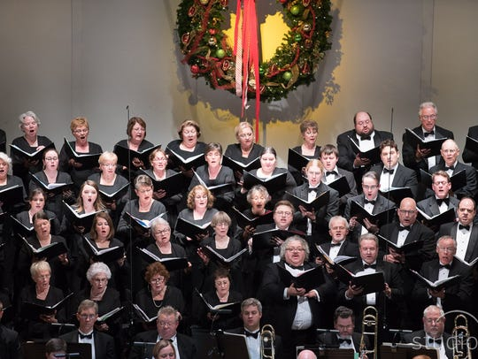 The Evansville Philharmonic Chorus will perform with the orchestra in their weekend concert.