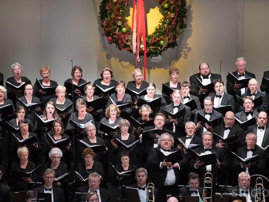 The Evansville Philharmonic Chorus will perform with the orchestra and other special guests this weekend for the Peppermint Pops concert.