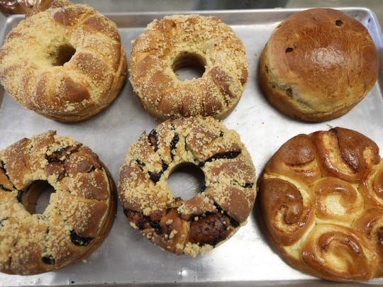 Cheese, prune and raisin babkas are among the most popular items at  Polonia Bakery in Passaic.
