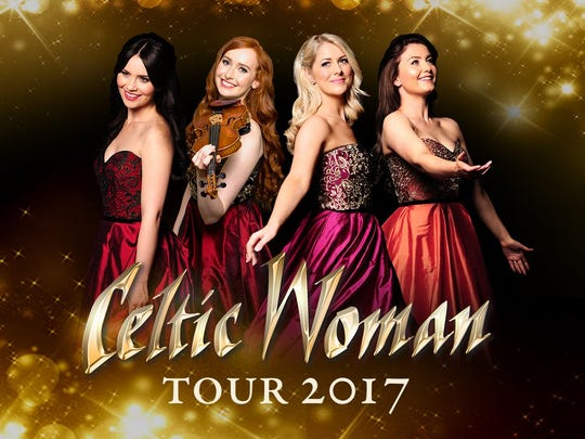The Celtic Woman Tour 2017 is among the offerings in March at the Kravis Center, in West Palm Beach.