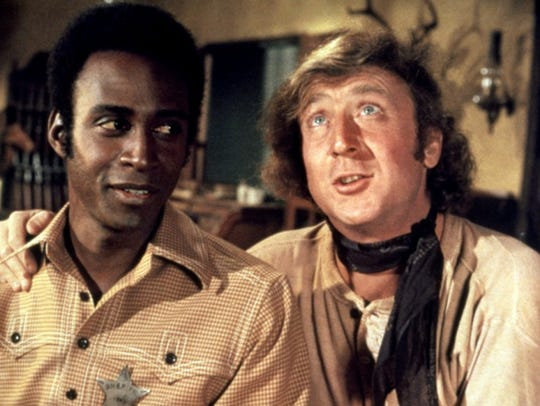 Cleavon Little (left) and Gene Wilder star in Mel Brooks'