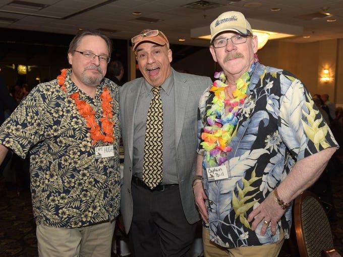 Captain Hugh Carola, Bill Ervolino, Captain Bill Sheehan