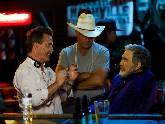 Neil Mandt, Gordon Whitener and Burt Reynolds