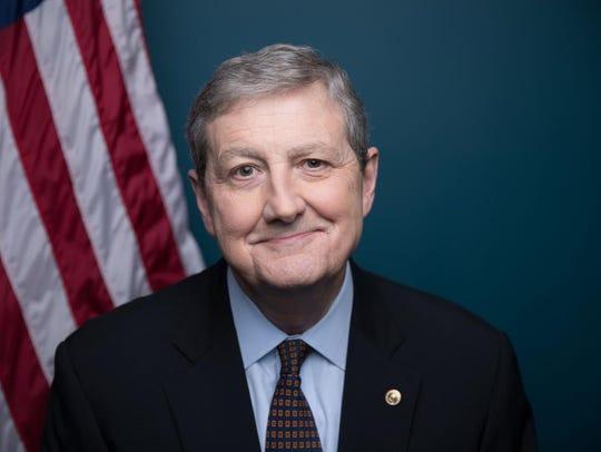 Republican U.S. Sen. John Kennedy