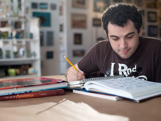 "Owen Suskind in a scene from ""Life Animated."""
