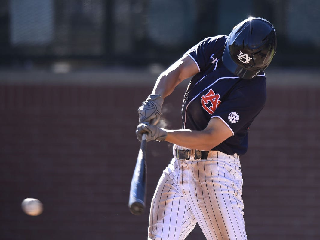 Auburn outfielder Jonah Todd was named Southeastern Conference Player of the Week Monday.