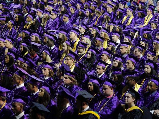 Cypress Lake High School seniors celebrated their graduation
