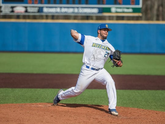 Salesianum graduate Kyle Hinton was effective in relief