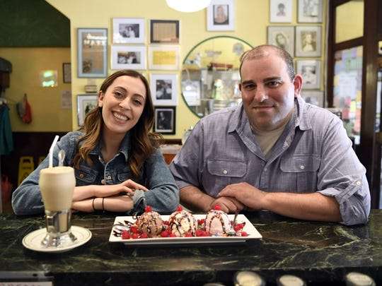 NorthJersey.com's Sophia F. Gottfried, left, and chef