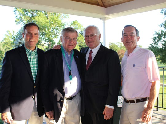 The Y was pleased to have three honorees at this year's