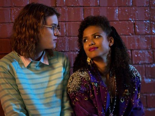 Mackenzie Davis as Yorkie and Gugu Mbatha-Raw as Kelly