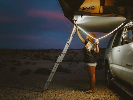 The Luminoodle light rope.