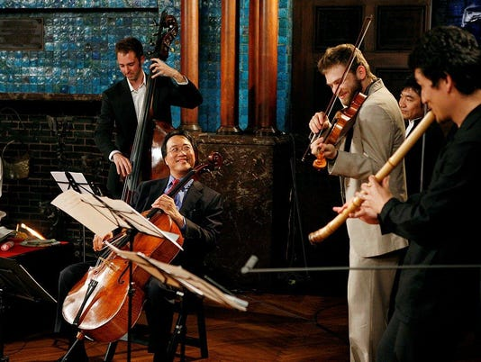Yo-Yo Ma and Silk Road Ensemble