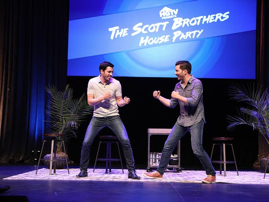 Drew and Jonathan Scott square off.