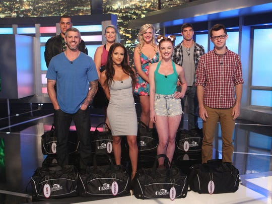"""Big Brother"" houseguests - top row: L-R: Josh Martinez,"