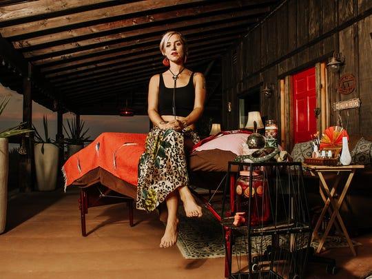 Megan Hutch at Star Ranch