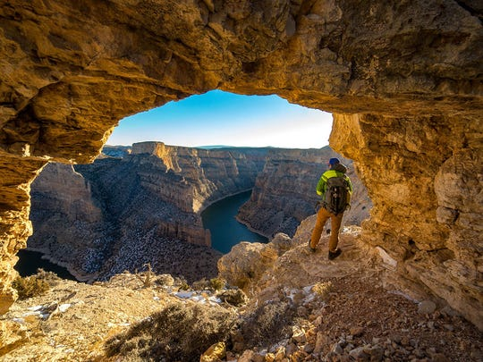 Bighorn Canyon National Recreation Area in southeast Montana