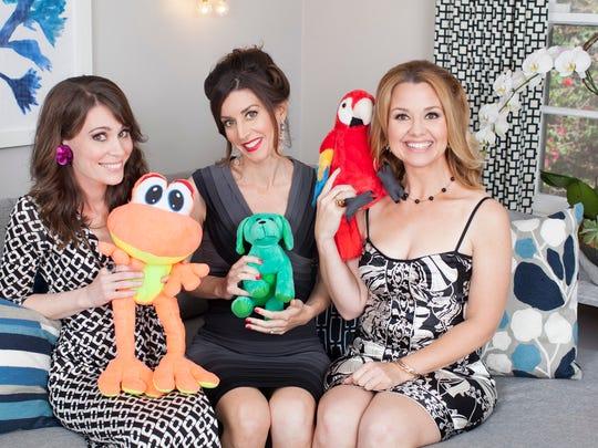 The Breakwomb stars writer-comedians Beth Crosby, Molly Erdman and Megan Grano.