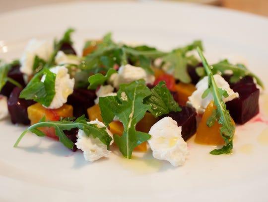 Beet salad from Cucina in Woodstock