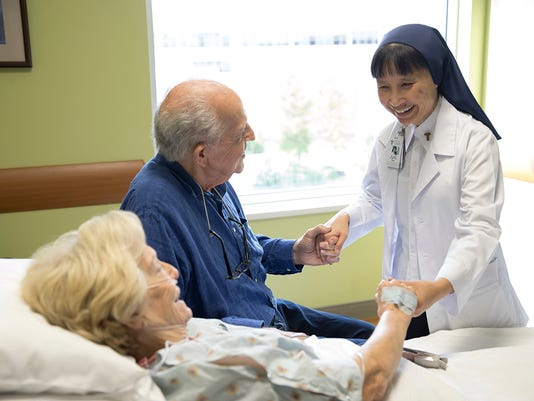 Sr. Uyen not only prays with patients, she is inspired by them