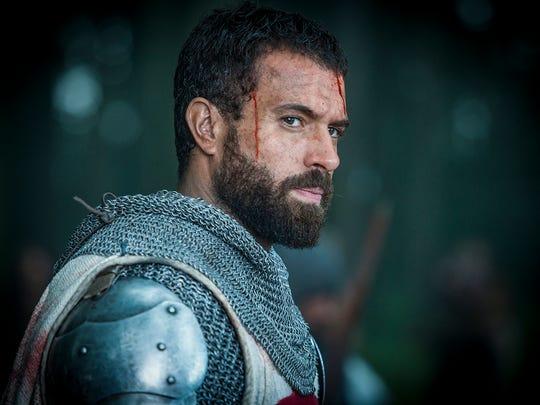 Landry (Tom Cullen) on 'Knightfall.'
