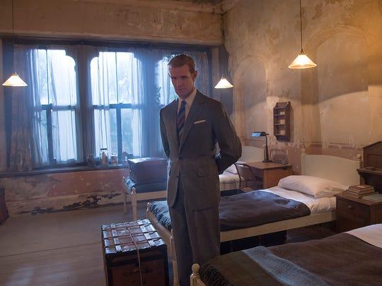 Matt Smith as Philip on 'The Crown.'