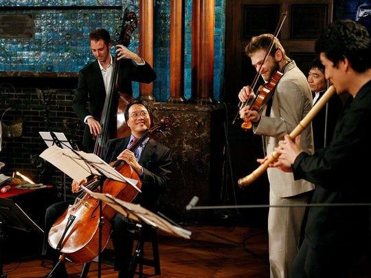 Cellist Yo-Yo Ma is back with The Silk Road Ensemble