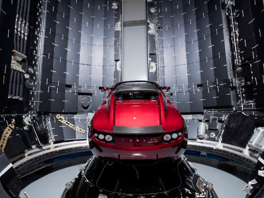 SpaceX CEO Elon Musk says this midnight cherry Tesla