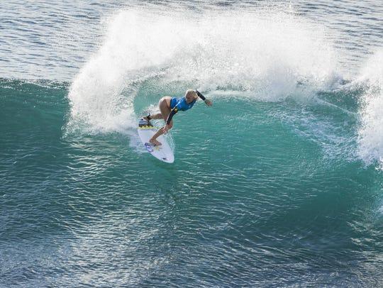 Tatiana Weston-Webb, born in Brazil and raised in Hawaii,