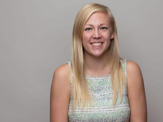 A headshot of Hannah Gacke.